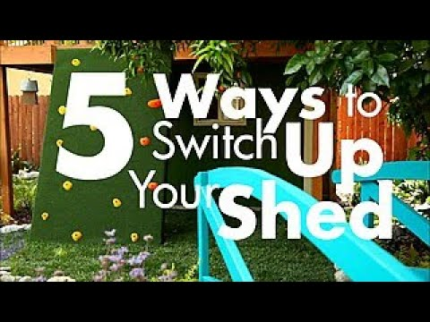 5 Creative Ways to Use a Shed – DIY Network