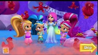 Мультфильм для детей с Шиммер и Шайн новые серии Приключения на Водопаде Мультик игра