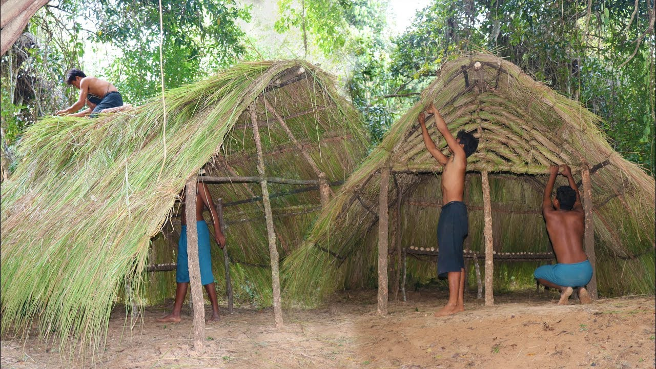 Primitive Tool : Build A-frame hut