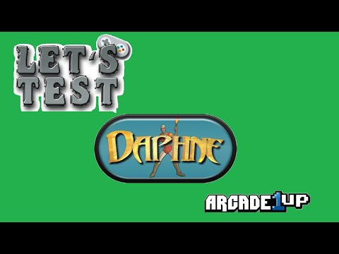 Dahpne on Pi4 Arcade1up from Magnus RC