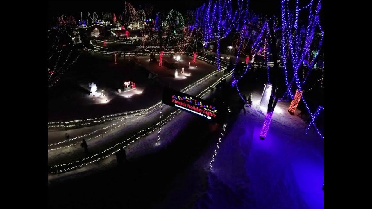 Kiwanis Holiday Lights Display In Mankatou0027s Sibley Park