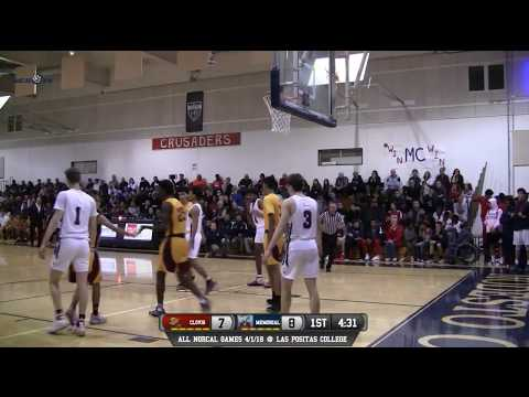 Clovis West vs San Joaquin Memorial High School Boys Basketball LIVE 12/29/17