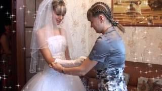 Начало свадебного фильма и сборы невесты