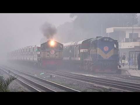 Non-stop Sonar Bangla Express lost its speed in Dense fog- B