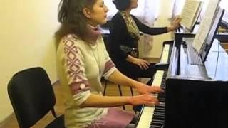 Открытый урок по фортепиано Сирятской Т.А. 6.12.2013