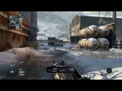 Call Of Duty Black Ops - Team Deathmatch versus Veteran Bots - WMD