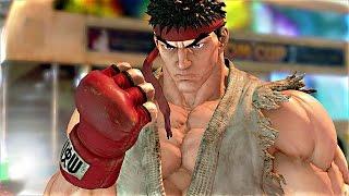 STREET FIGHTER 5 - PS4 Gameplay Demo 60 FPS (Street Fighter V)