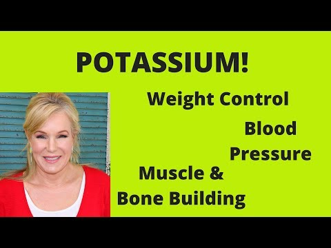 THE INCREDIBLE BENEFITS OF POTASSIUM!