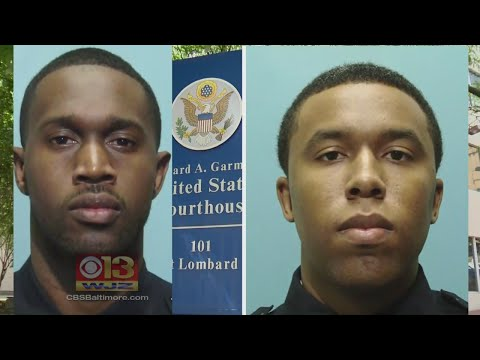 Two Baltimore Detectives Admit To Racketeering