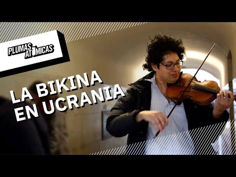 Violinista de Veracruz impulsa la música mexicana en Ucrania