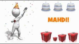 HAPPY BIRTHDAY MAHDI!