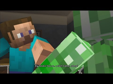 YOU PICKED THE WRONG HOUSE, FOOL! (GTA SA MINECRAFT PARODY)