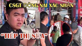 """Công An Chính Thức Lên Tiếng Vụ""""Nhóm Tiếp Thị Sữa"""" trong clip Của Nguyễn Sin"""
