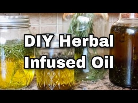How to Make Herbal Infused Oils-Solar Infused