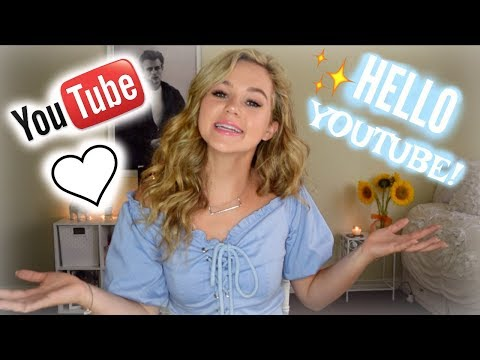 HELLO YOUTUBE! My first video... | Brec Bassinger