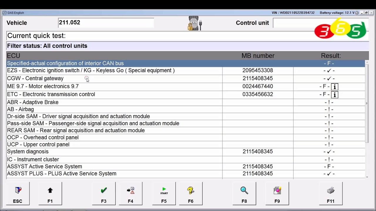 VXDIAG Benz C6 W211 Gateway offline programming obdii365