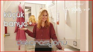 IKEA BANYO TURU #1 - KÜÇÜK BANYO DEKORASYONU - İç Mimar Sisters