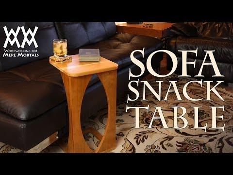 Sofa Snack Table. Great For Your Living Room!