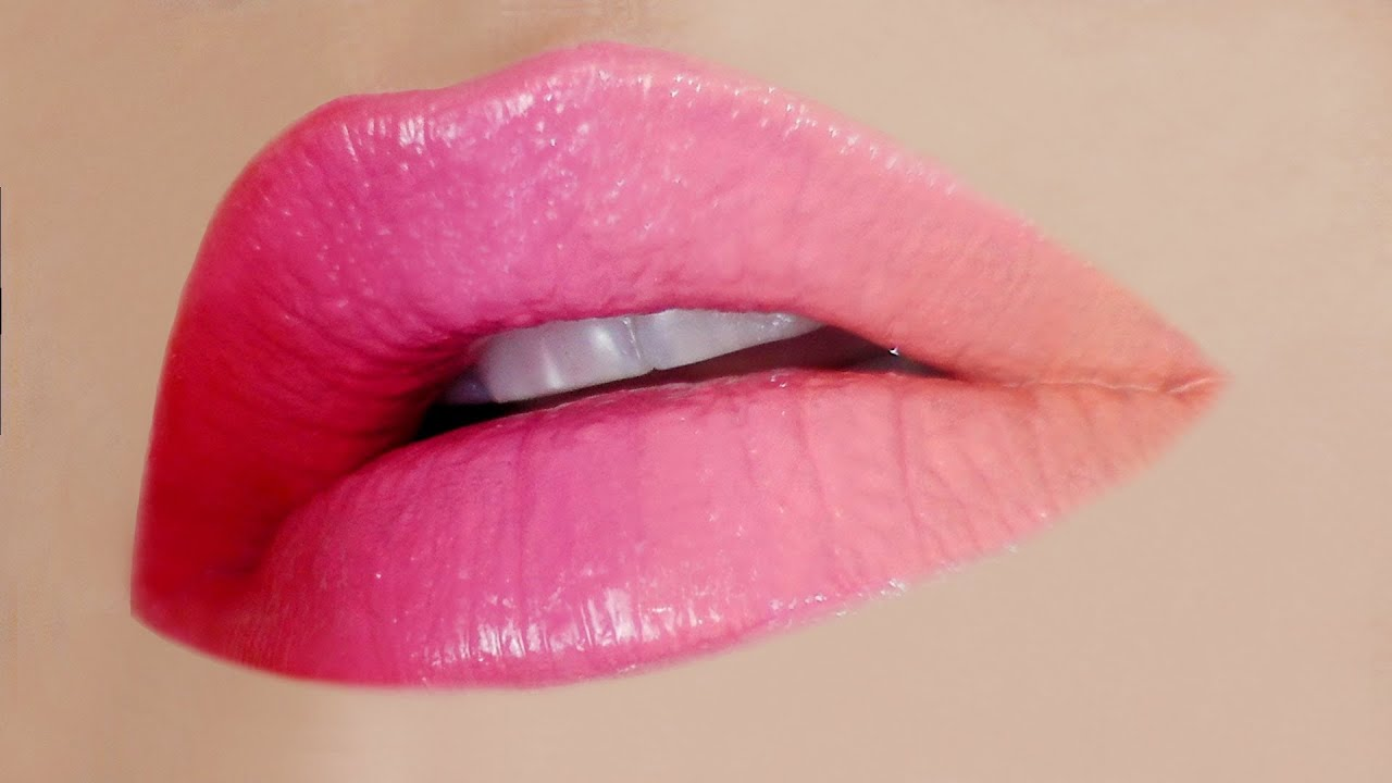 Sexy Ombre Lips Makeup Tutorial - YouTube
