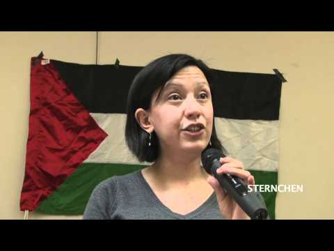 Rafeef Ziadah - BDS on Campus, London - 20.10.11