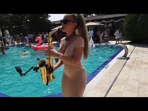 Eric Prydz - Pjanoo  DONIA  Saxophone - Wedding Pool Party