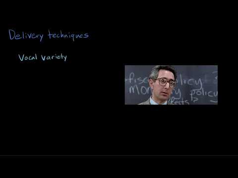 How the delivery of a speech affects the impact of the words | Reading | Khan Academy