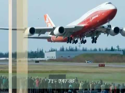 Ultimate Jumbo jet battle - 747-8 vs A380 part 2 (1 of 3)