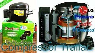 Refrigerator Reconditioned Compressor   Repairing Trailer   For Perfect Compressor 2018