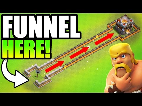 THE SECRET TO FUNNELING!! - Clash Of Clans