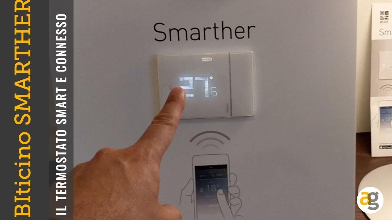 Il termostato connesso e smart da bticino smarther play - Smarther bticino ...