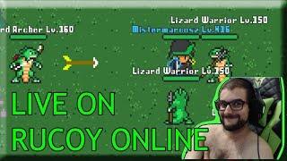 |LIVE| Rucoy Online #000 Skilando e Resenhando