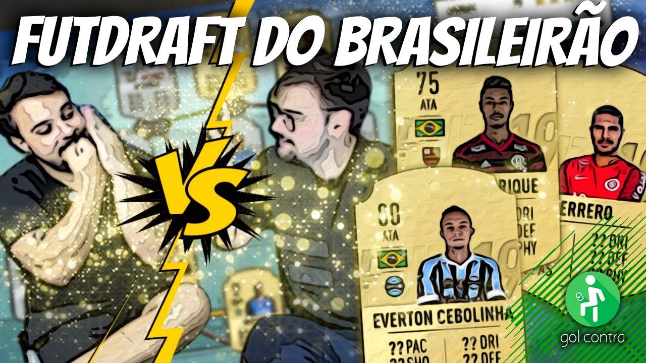 DESAFIO DE FUTDRAFT DO BRASILEIRÃO (PARTE 1) | DÁ PRA FAZER MAIS DE 190?