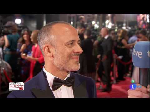 Javier Gutierrez en los Premios Goya 2017