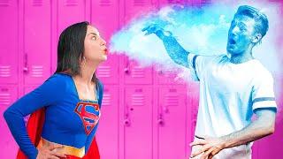 Супергерои в колледже / 15 забавных ситуаций