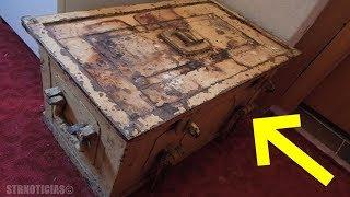 Mujer encuentra esta caja fuerte de su tía abuela, al abrirla hizo que su cuerpo estremeciera.