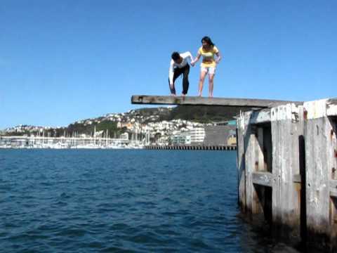 wharf jumping (nz)