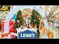 LOWES CHRISTMAS 2019 AMAZING SHOP WITH ME CHRISTMAS TREES ORNAMENTS DECORATIONS SHOPPING GIFT IDEAS