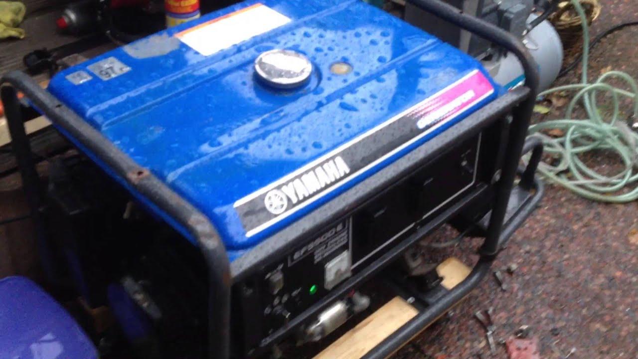 Yamaha EF5500E generator