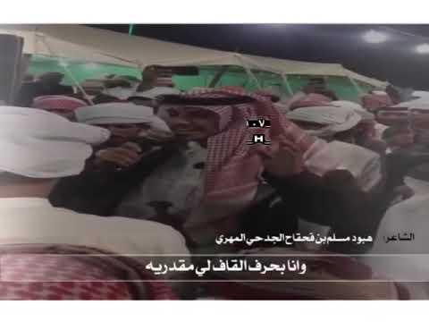 الشاعر هبود مسلم المهري في حفل المهره ⚡️
