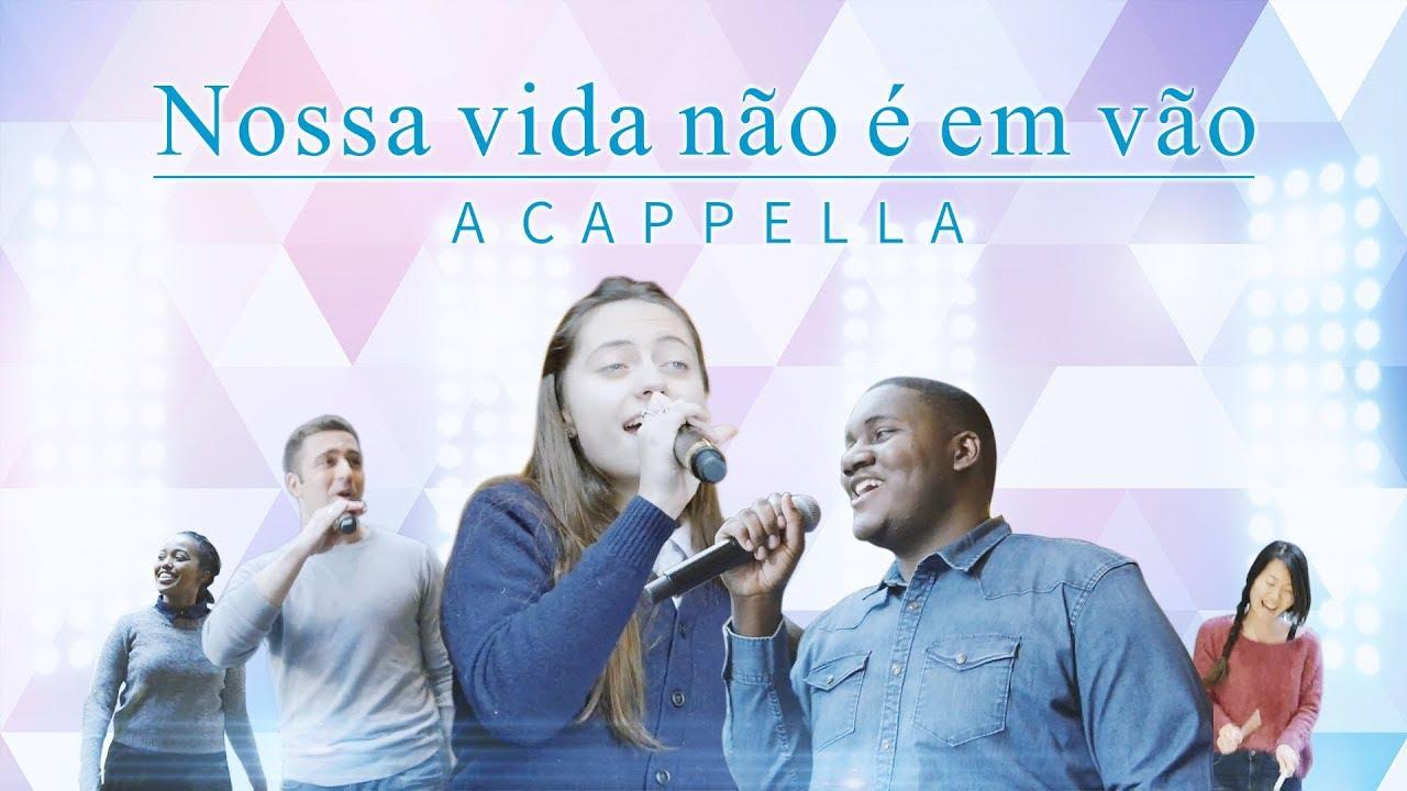 """Música gospel 2018   """"Nossa vida não é em vão"""""""