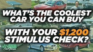 What's the coolest car you can buy with your $1,200 stimulus check?