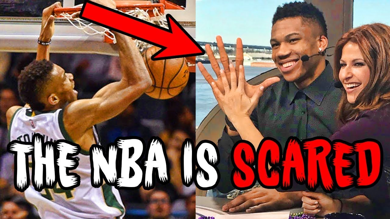 Here's a Terrifying Thought for the N.B.A.: Giannis Looks ...