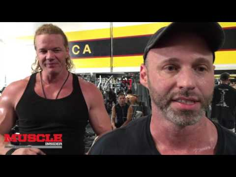 Back workout with James Preston Rogers and Eric Broser
