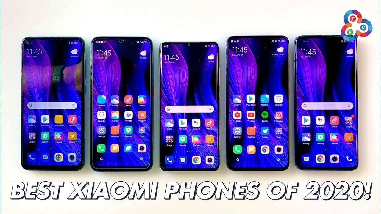 BEST XIAOMI PHONES (so far) OF 2020!