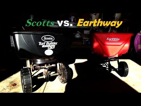 Scotts Vs Earthway Spreader Comparison
