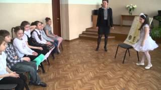 Урок ритмики преподавателя Белецкой Людмилы Ивановны