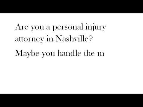 Nashville Personal Injury Lawyer | #personalinjury