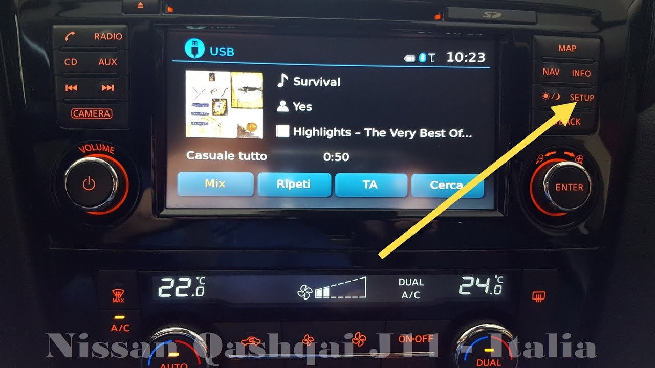 Aggiornamento autovelox navigatore Nissan Connect Qashqai 2014 J11
