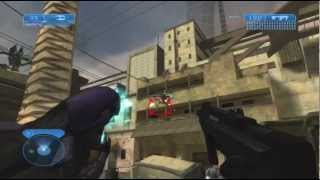 Halo 2 Chapter 2 Outskirts Xbox 360 720P gameplay