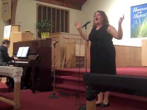 Nikki Switzer singing Ain't It Good, Children Of Eden